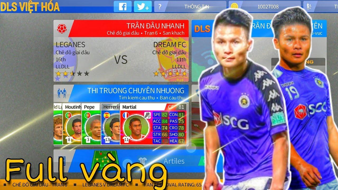 ( DLS VIỆT HÓA ) Hướng dẫn tải lại Dream League Soccer 2016 Việt Hóa + Full Vàng + Chuẩn Logo