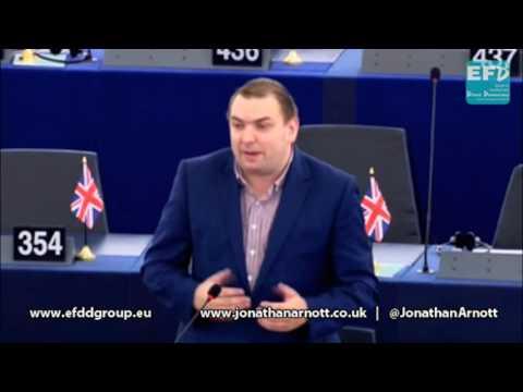 Imposing an EU world view upon sovereign nations - Jonathan Arnott MEP