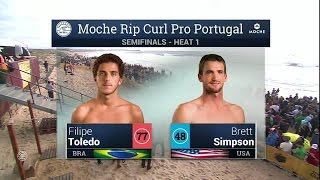 Moche Rip Curl Pro Portugal: SF, H1 Recap
