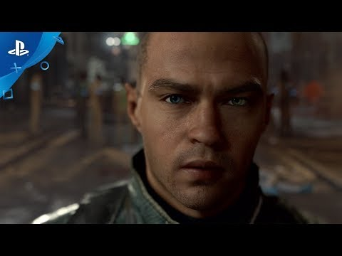 Detroit: Become Human - E3 2017 Cinematic Gameplay Trailer (Playstation 4 - PS4 Exclusive)