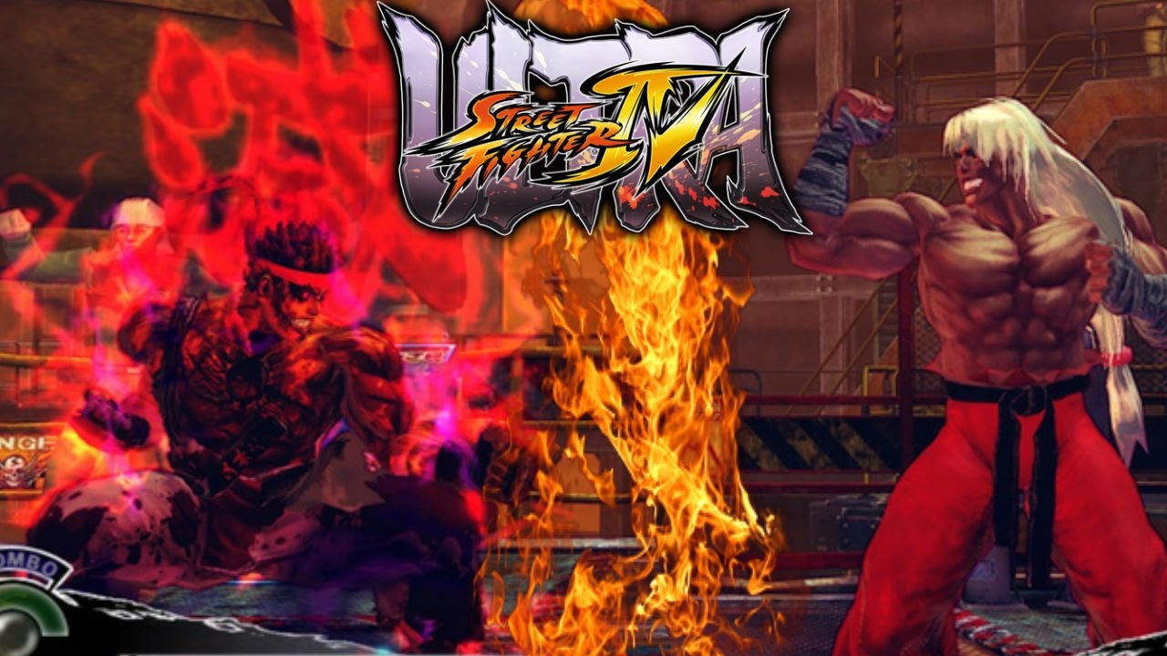 Ultra Street Fighter 4 Mods Berserker Evil Ryu Vs Violent Ken