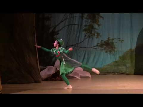 """Детский балет """"Дюймовочка"""". Жаба"""