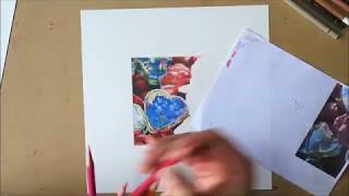 """Coloured Pencil Time-Lapse / Speed Drawing """"Purity"""" 