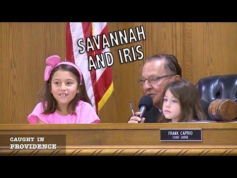 Savannah and Iris
