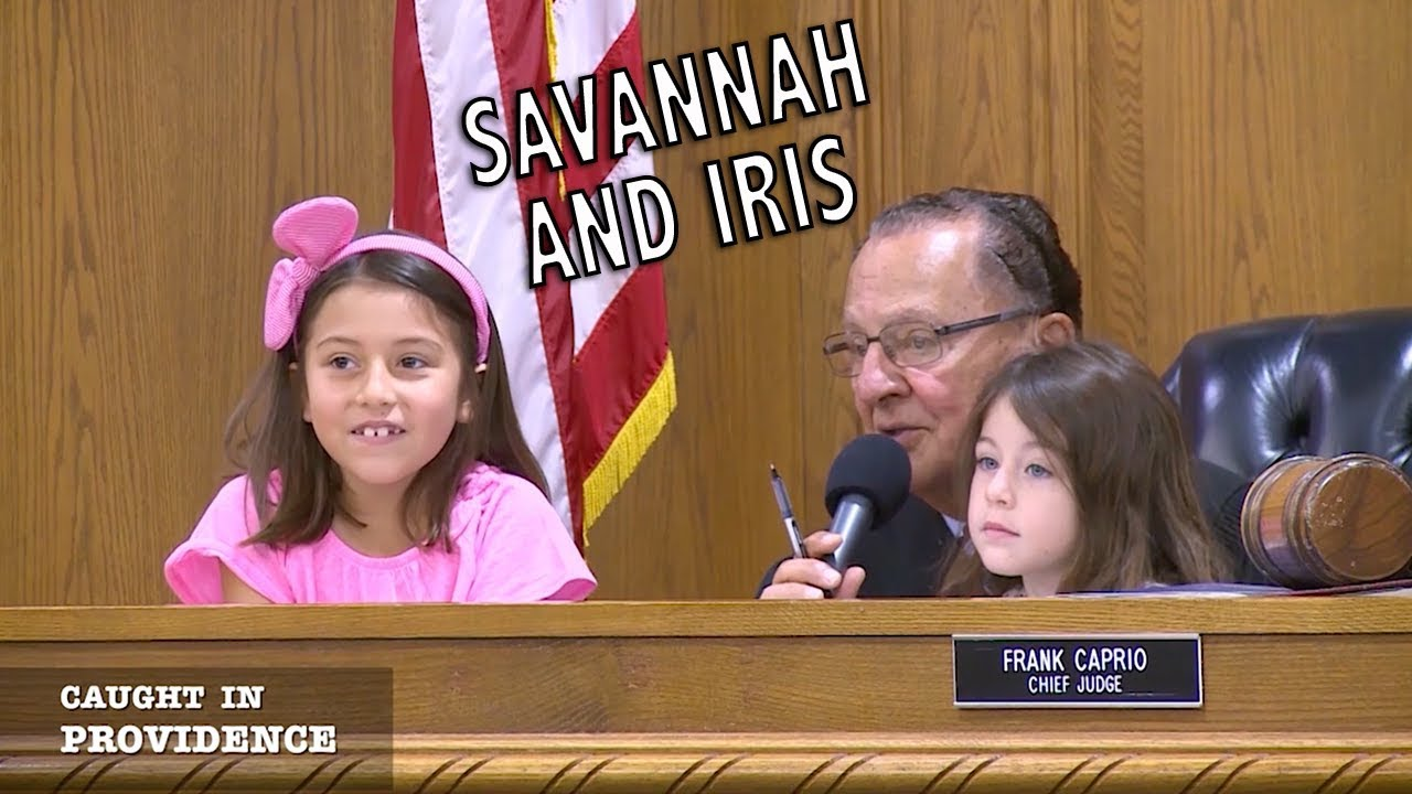 Savannah and Iris and My Intention Was to Stop