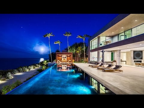 $27.9 Million Stunning Oceanfront Contemporary Residence in Malibu, CA, USA