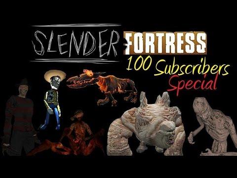 TF2 | Slender Fortress | 100 Subscribers Special | Atomics + Sanatorium + Lockers