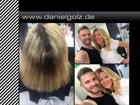 Sexy  Hair  !!! Von Foliensträhnen zu einer Farbe , wie es funktioniert !