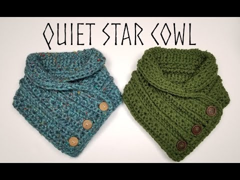 Quiet Star Cowl - Crochet Tutorial