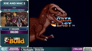 Joe and Mac 2 by dram55 in 21:36 - Awesome Games Done Quick 2017 - Part 25
