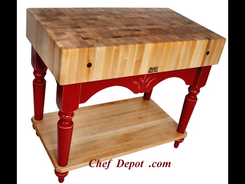 john boos butcher block sale