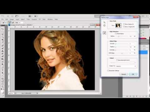 Замена фона в Photoshop