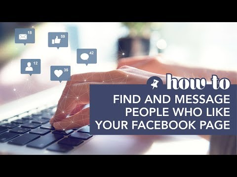 Find And Message People Who Like Your Facebook Page