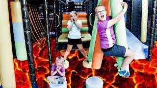 The FLOOR is LAVA Challenge!