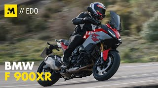 BMW F900XR TEST: LA CROSSOVER ACCESSIBILE [English sub.]