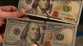How to spot a fake with counterfeit bills in circulation on