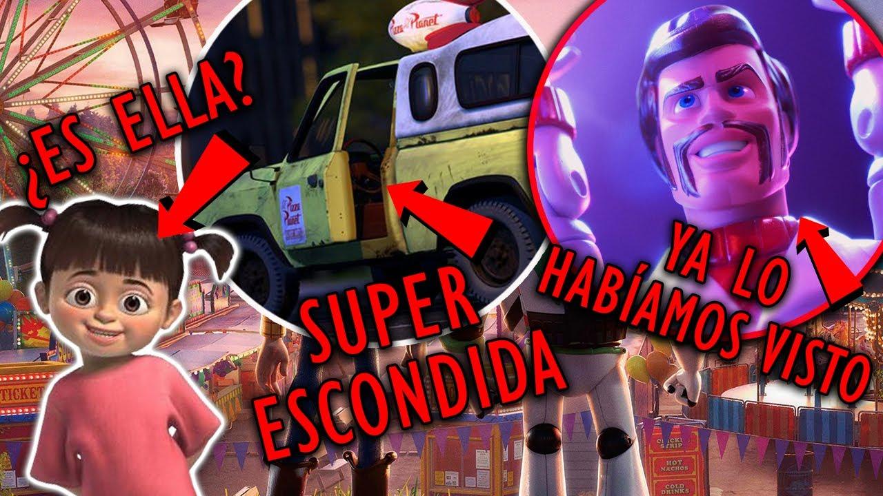 7 DETALLES QUE NO VISTE EN TOY STORY 4 | DUke KABooM en LOS INCREIBLES y más referencias Pixar!