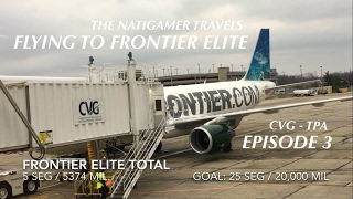 Flying to: Frontier Elite Ep. 03 - Tampa Round 2 (CVG-TPA-CVG) Jan 28th 17 Trip Report Cincinnati