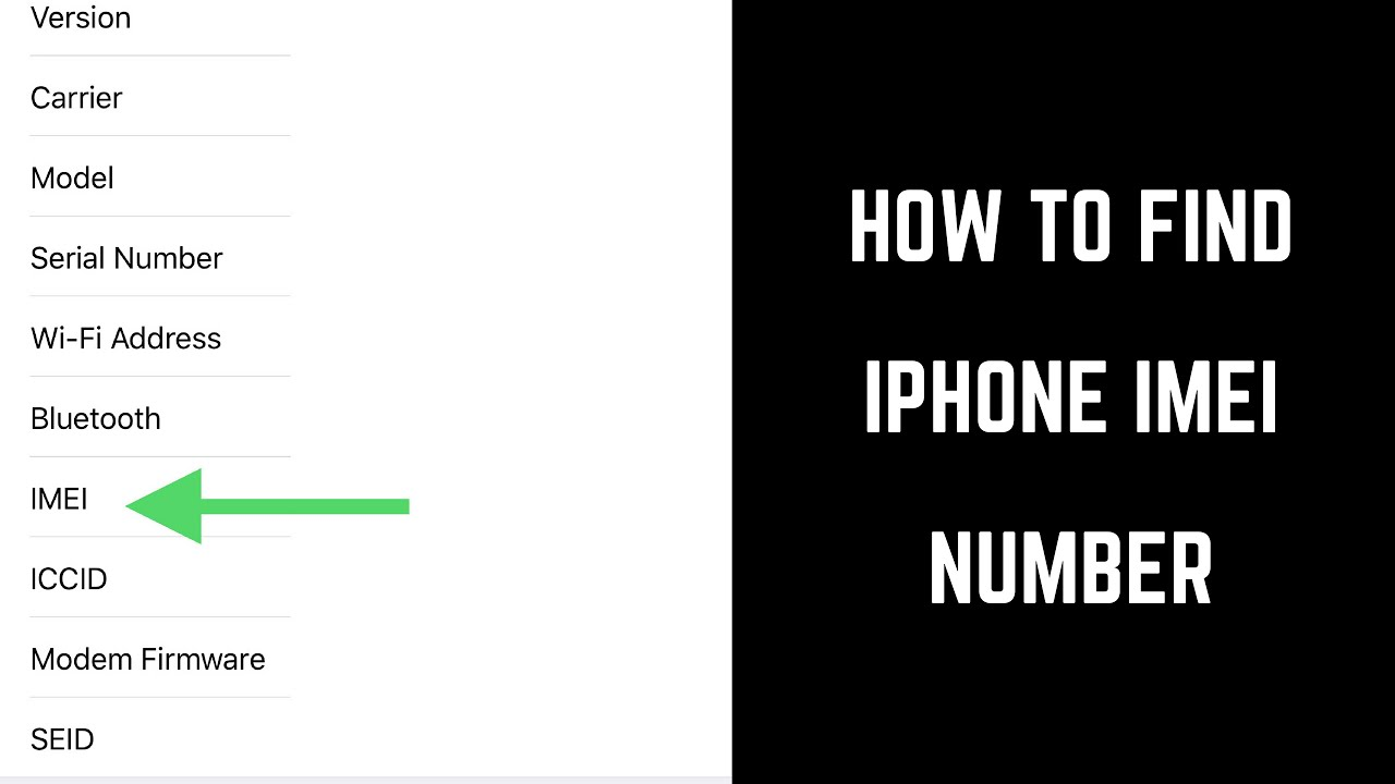 How to Find Apple iPhone or iPad IMEI Number
