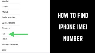Gambar cover How to Find Apple iPhone or iPad IMEI Number