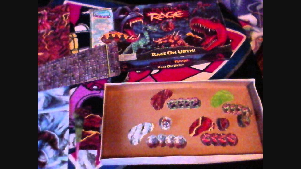 My Primal Rage Board Game Vintage 90s Playmates Toys Youtube