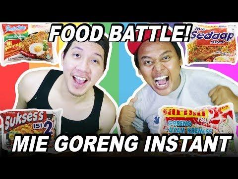 FOOD BATTLE EPISODE MIE GORENG INSTANT! (Indomie, Mie Sedap, Mie Sukses, Sarimi, Alfamart Mie)