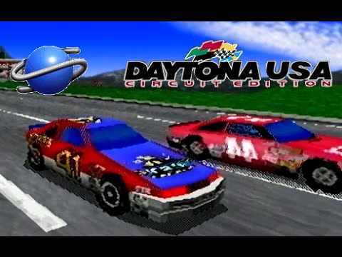 Daytona USA Circuit Edition playthrough (SEGA Saturn)