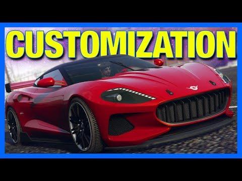 GTA 5 Online Casino : Vysser Neo Customization!! (Spyker C8)