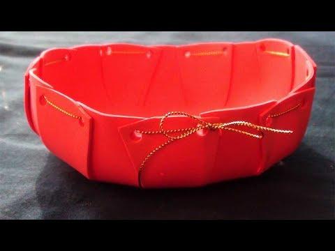 Paper Clip Holder | Desk Organizer | How to Make Crafts