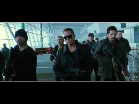 VAN DAMME VS STALLONE   The Expendables 2   Clip HD   2012