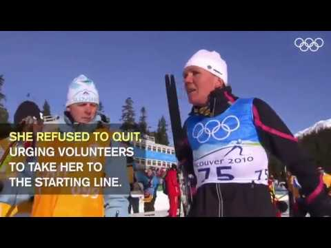 Motivation Video  Petra Majdič vancouver 2010 winter olympic games NEVER GIVE UP!
