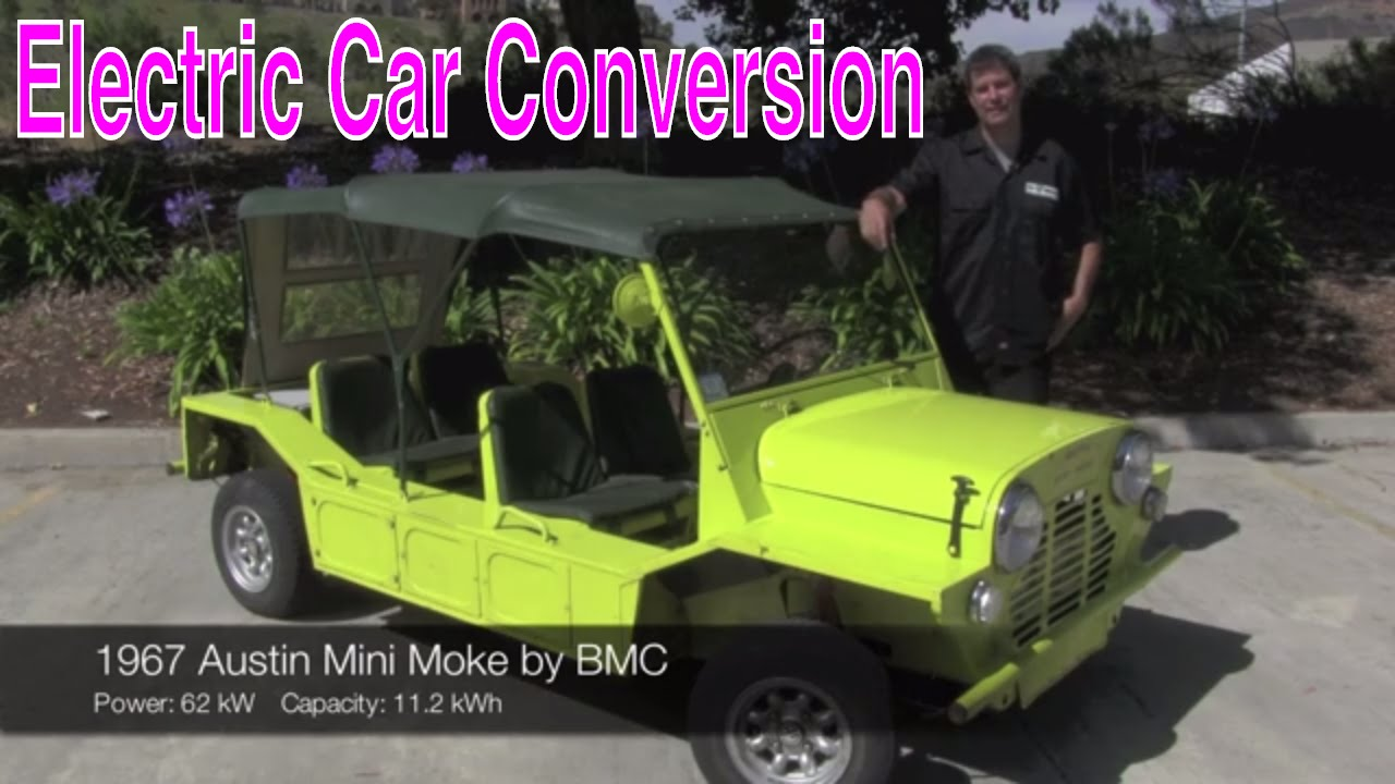 Electric Vehicle Conversion 1967 Austin Mini Moke