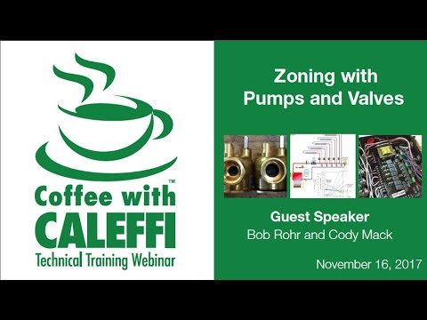 Zoning with Pumps and Valves