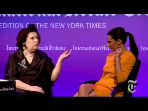 Victoria Beckham International Herald Tribune Luxury Conference