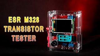 видео Купить русский тестер радиоэлементов M328 (ESR tester)