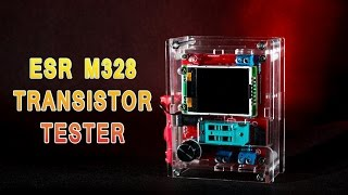 ESR тестер M328 прошивка и обзор