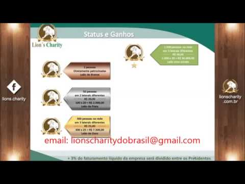 lions charity nova apresentação