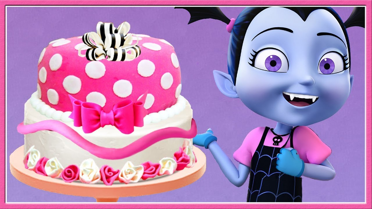 Fun Kids Cooking Disney Junior Vampirina Bake Birthday Cake Maker