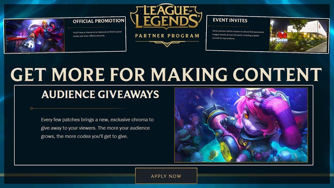 league of legends promotional codes