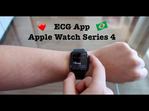 ECG no Apple Watch Serie 4 - Como Funciona e como Ativar!