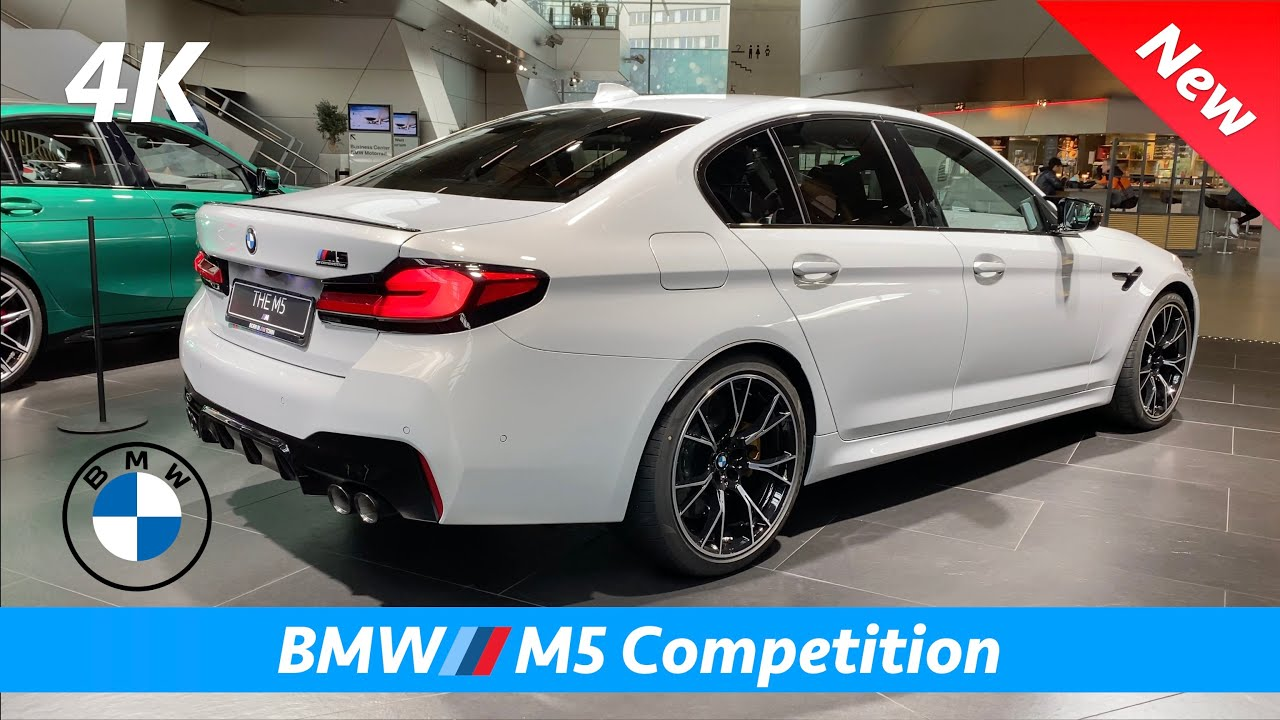 Bmw M5 Competition 2021 First Look In 4k Interior Exterior Facelift Price Youtube