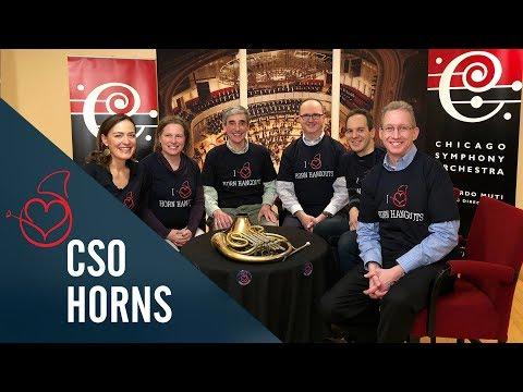 The Chicago Symphony Horns on Sarah´s Live Horn Hangouts