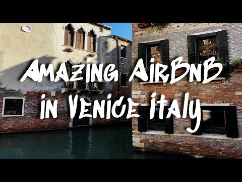 Where To Stay In Venice || AMAZING AirBnB By San Marco Square!