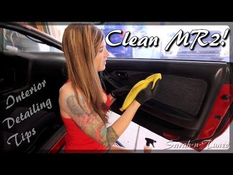 Interior Detailing Tips! // MR2 Project Car Pt.10