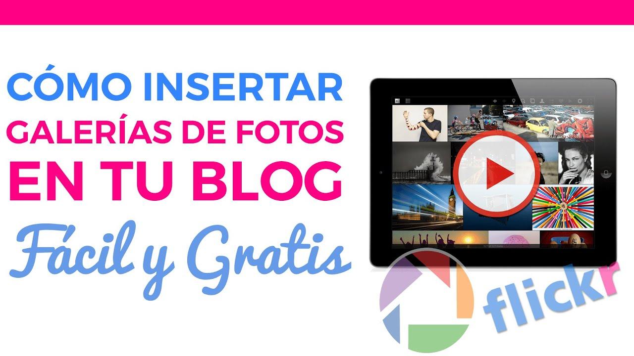 Crear una galeria de fotos en blogger 50