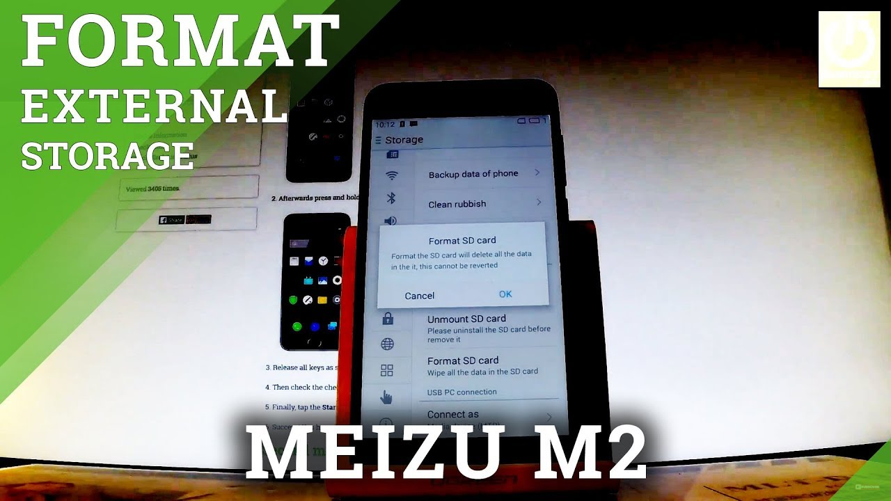 how to format sd card in meizu m delete data from external how to format sd card in meizu m2 delete data from external storage
