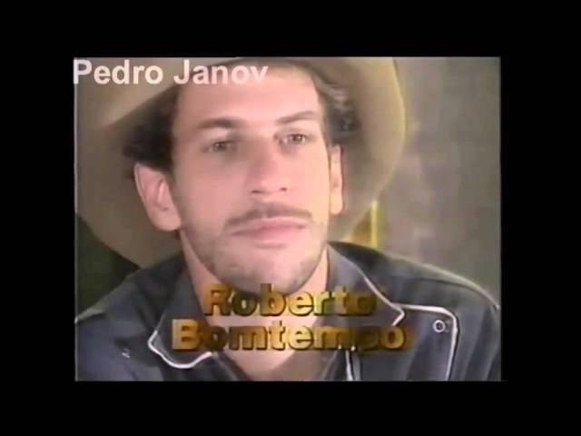 Chamada de Elenco: Ana Raio e Zé Trovão (1990)