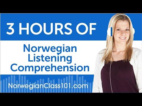 3 Hours of Norwegian Listening Comprehension