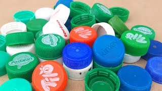 4 Creative Ways to Reuse Bottle Caps - Waste Bottle Caps Craft Ideas