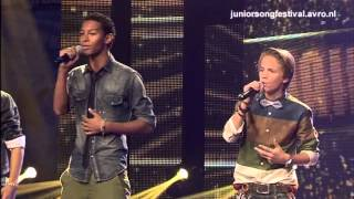 Junior Songfestival - Mainstreet met Stop the Time - Halve finale (2012)